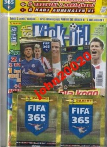 12/2015 KICK-IT.NAKLEJKI KARTY PANINI,FIFA 365