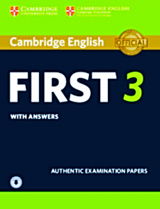 CAMBRIDGE ENGLISH FIRST 3 ANSWERS AUDIO CD