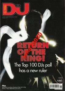 DJ MAGAZIN 11/2012.RETURN OF THE KING