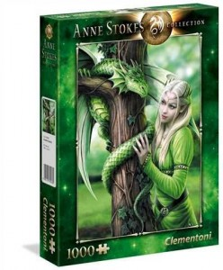 PUZZLE 1000 EL ANNE STOKES COLLECTION KINDRED SPIRITS