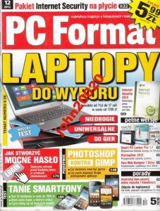 PC FORMAT 12/2012.+CD INTERNET SECURITY 2013