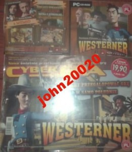 WESTERNER PC CD-ROM.