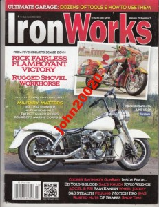 10/2012 IRON WORKS MILITARY MATTERS