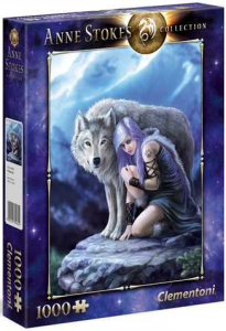 PUZZLE 1000 EL ANNE STOKES COLLECTION OPIEKUN