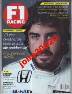 11/2015 F1 RACING.FERNANDO ALONSO