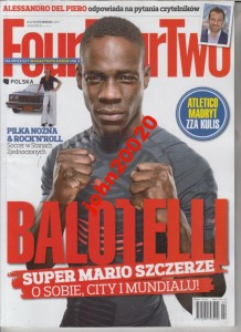 2/2014 FOUR FOUR TWO,BALOTELLI,DEL PIERO.ATLETICO