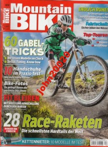 12/2012 MOUNTAIN BIKE.60 GABEL-TRICKS
