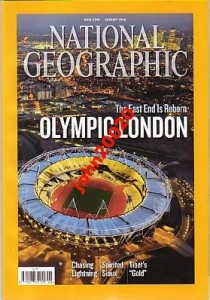 NATIONAL GEOGRAPHIC-AUGUST 2012-OLYMPIC LONDON
