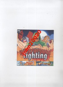 Underground Fighting pc cd rom