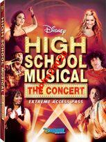 HIGH SCHOOL MUSICAL KONCERT.DVD.DISNEY