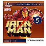 IRON MAN 5.MARVEL.SEZON 1.VCD